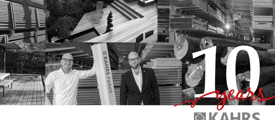 10 Jahre Kahrs GmbH – Vom Start-up in die 1. Liga des Holzhandels