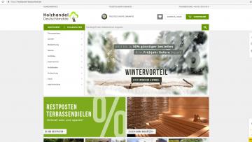 Neuer Holzhandel-Deutschland Shop online